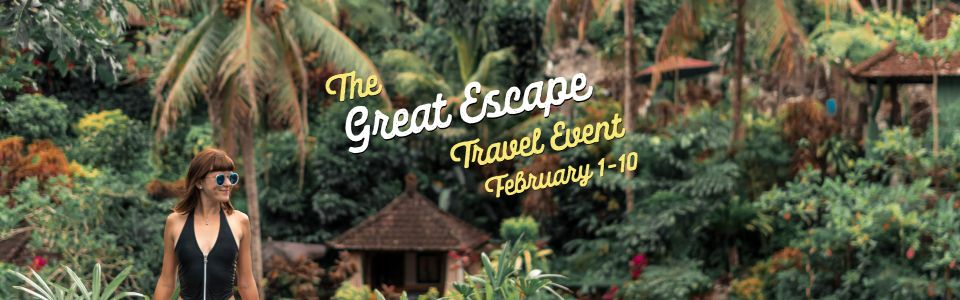 The Great Escape Travel Event