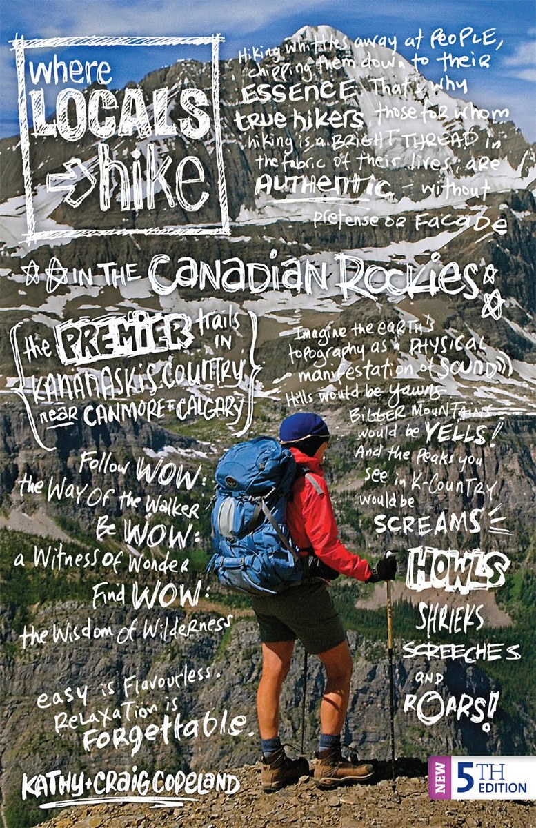 Book cover for Where Locals Hike in the Canadian Rockies