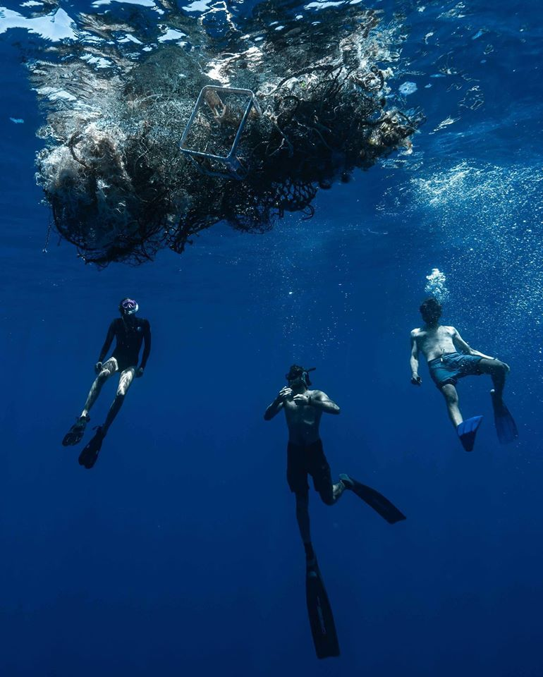The Vortex Swim - Plastic Garbage in our Ocean
