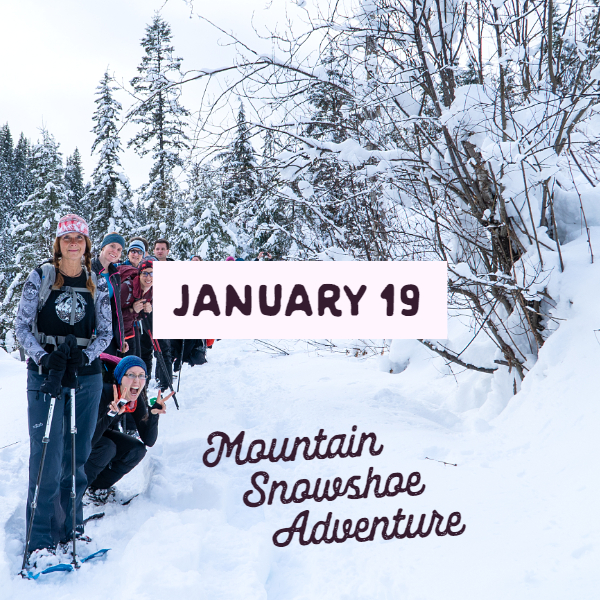 Mountain Snowshoe Adventure