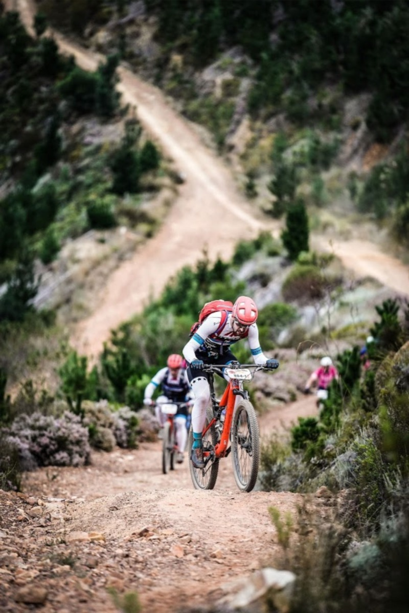 Mountain biking in South Africa at the Cape Epic