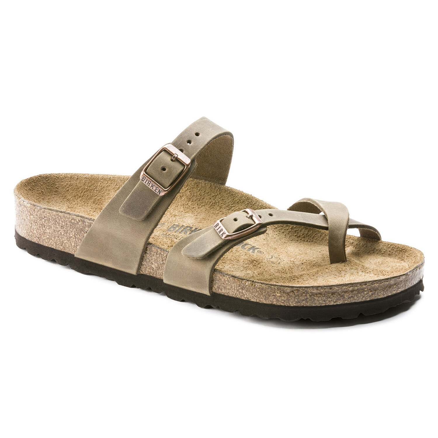 Mayari Leather Sandal Tobacco