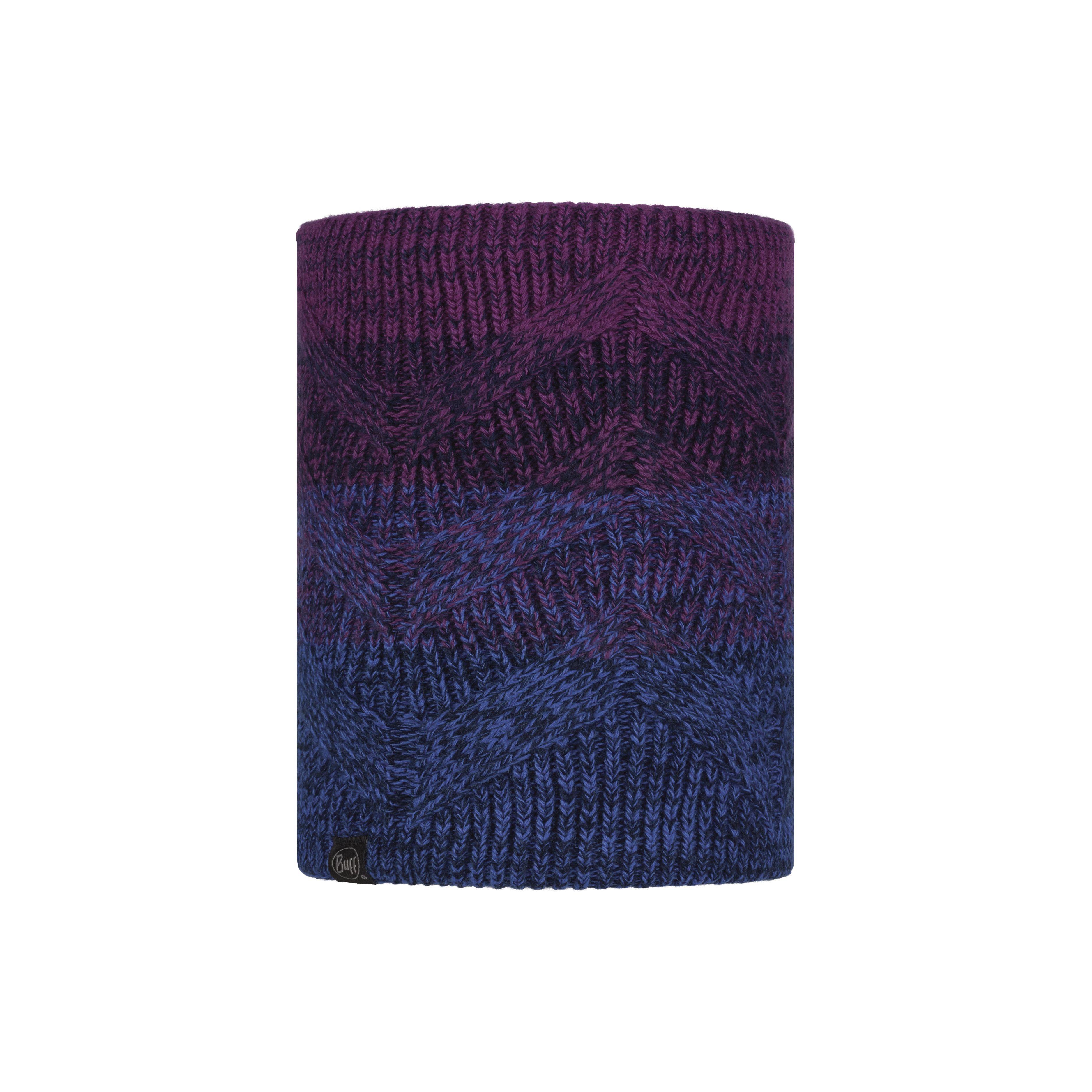 Masha Purplish Knitted Polar Neckwarmer