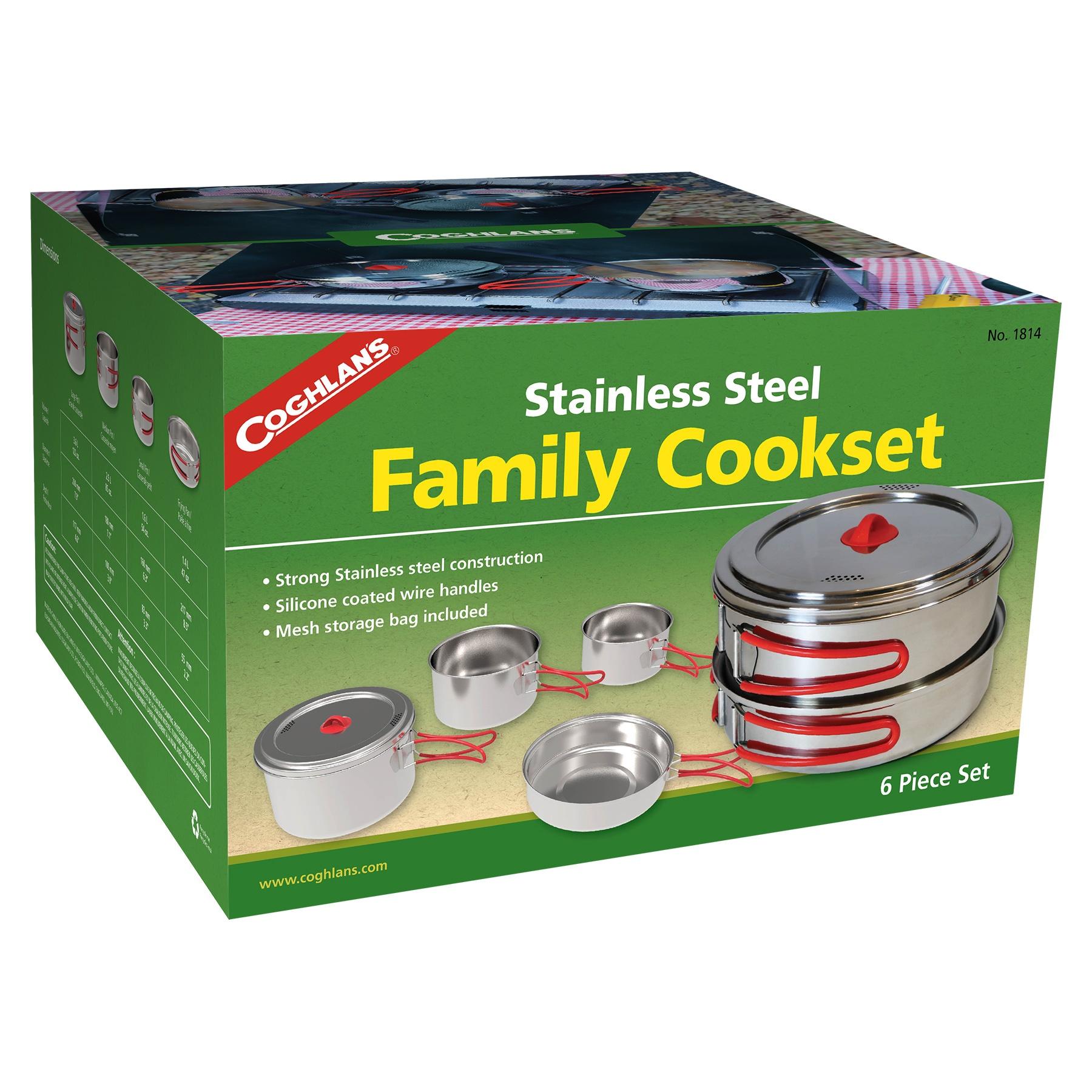 Stainless Steel Family Cookset