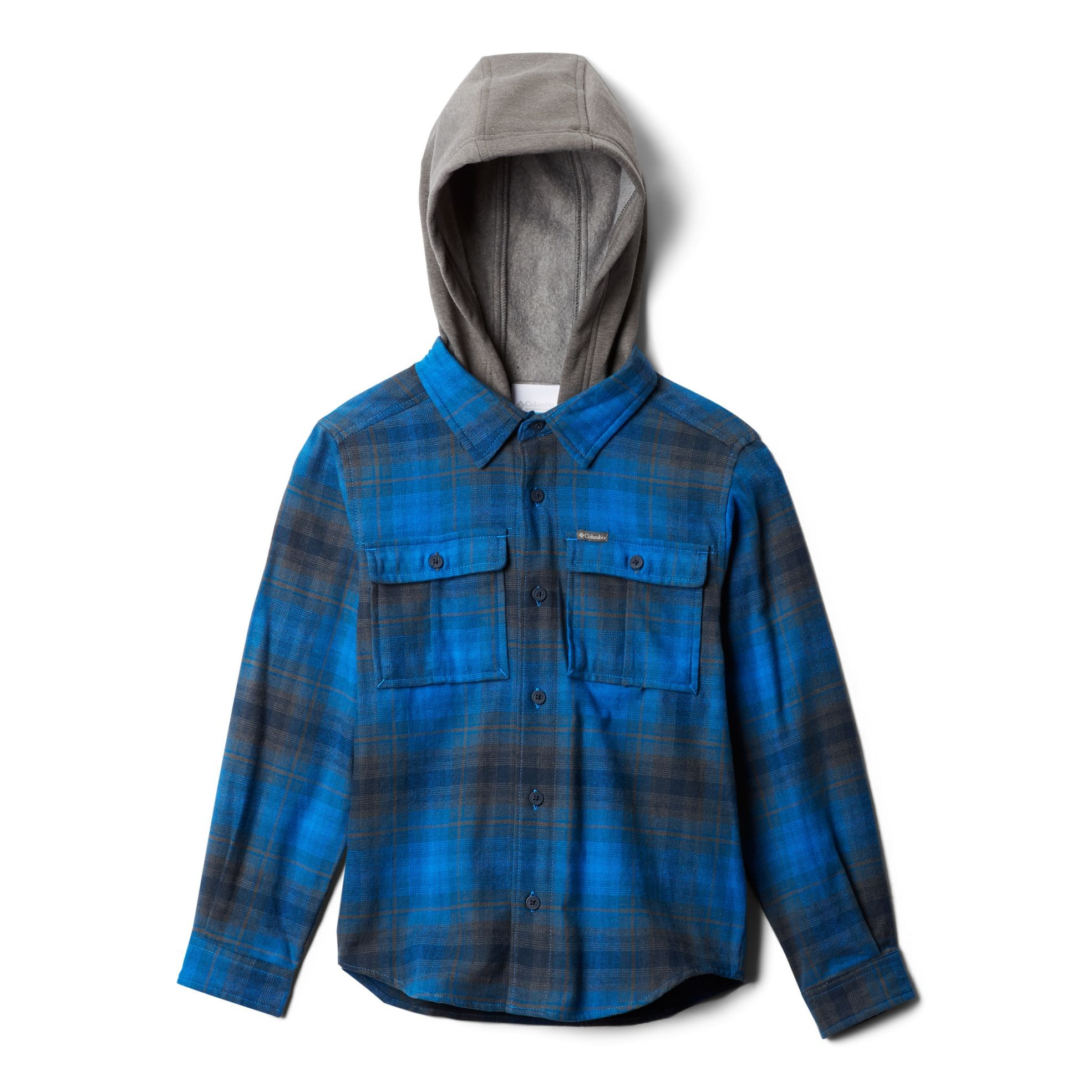 Boulder Ridge Flannel Hoodie - Youths'