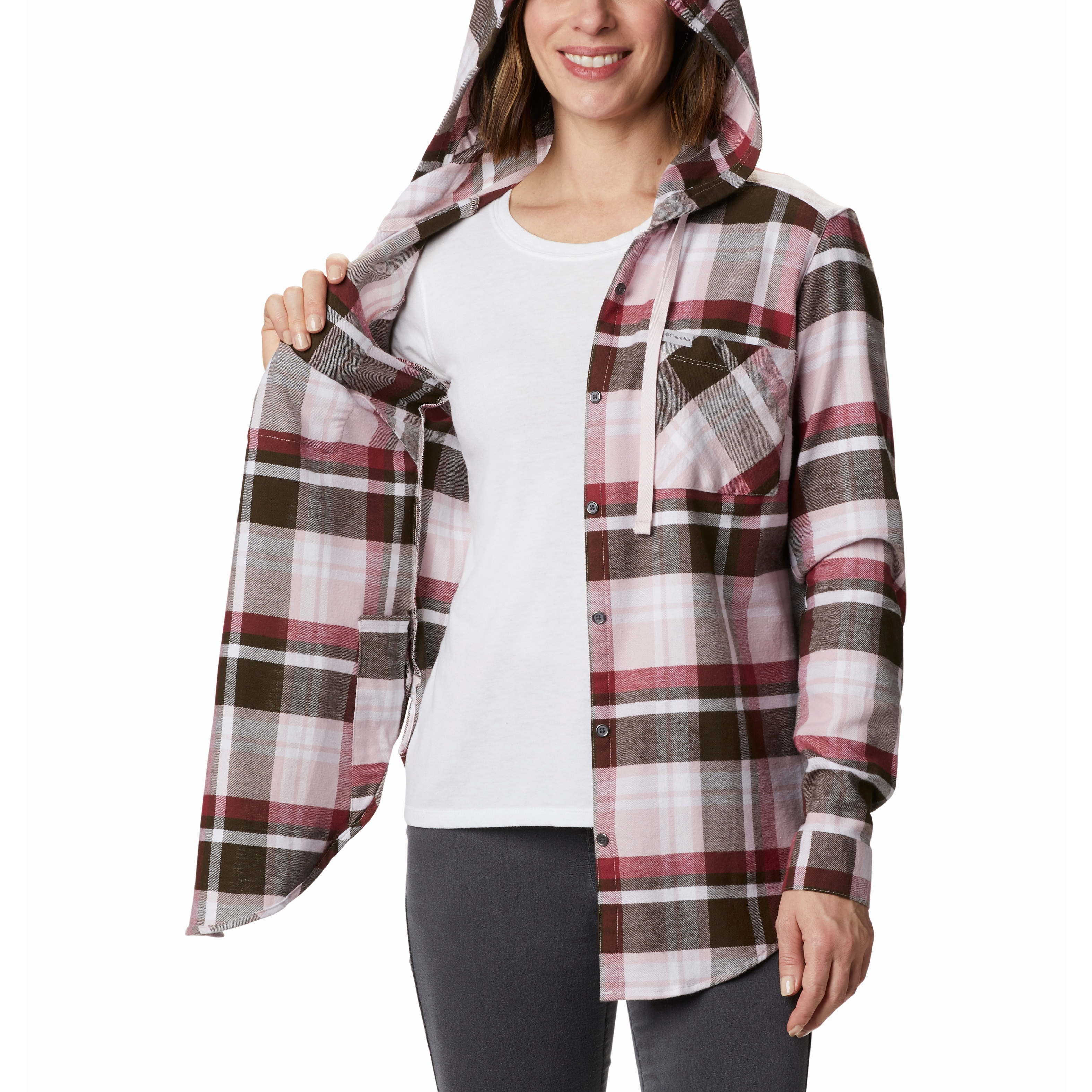 Anytime Stretch Hooded Shirt - Women's