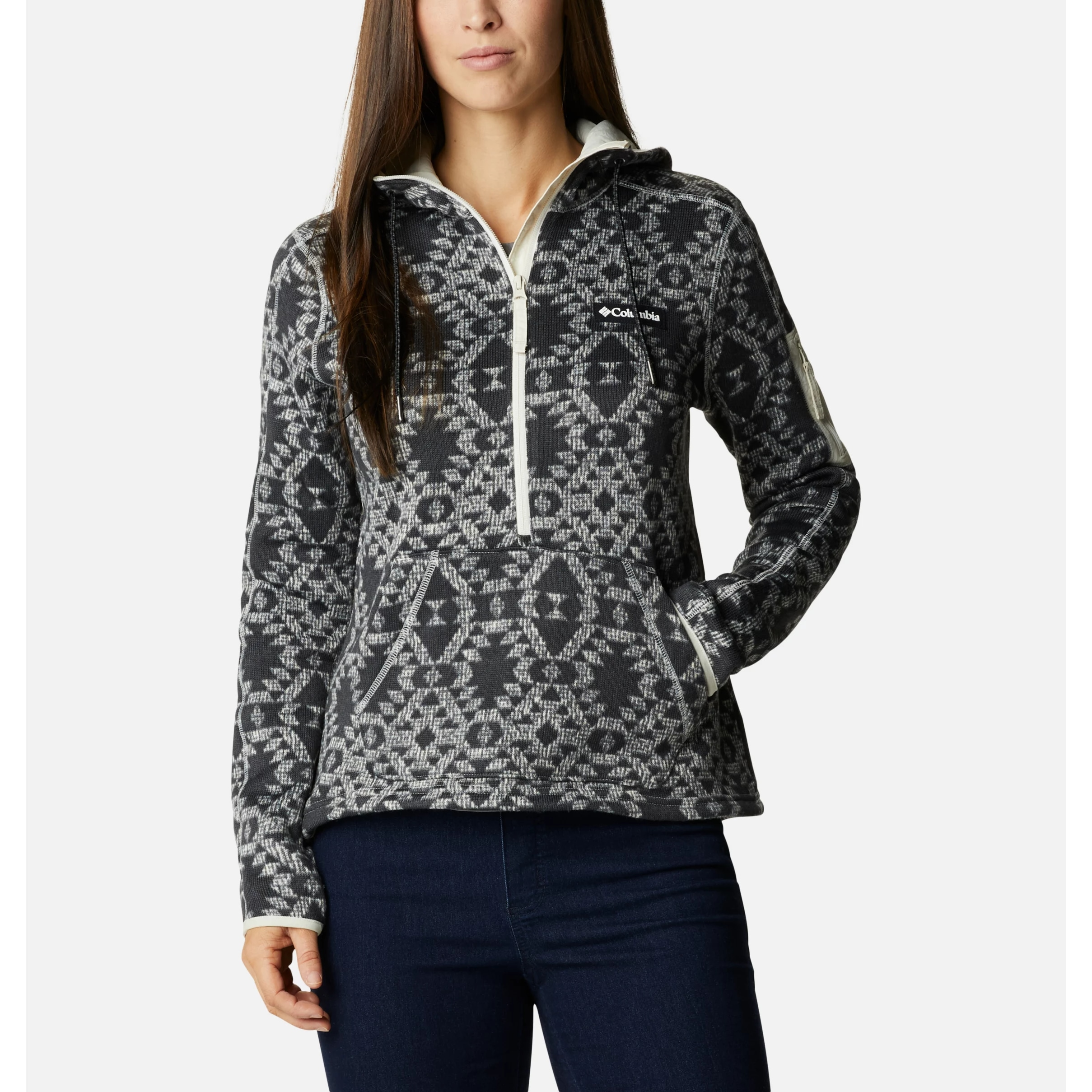 SWEATER WEATHER HOOD PULLOVER