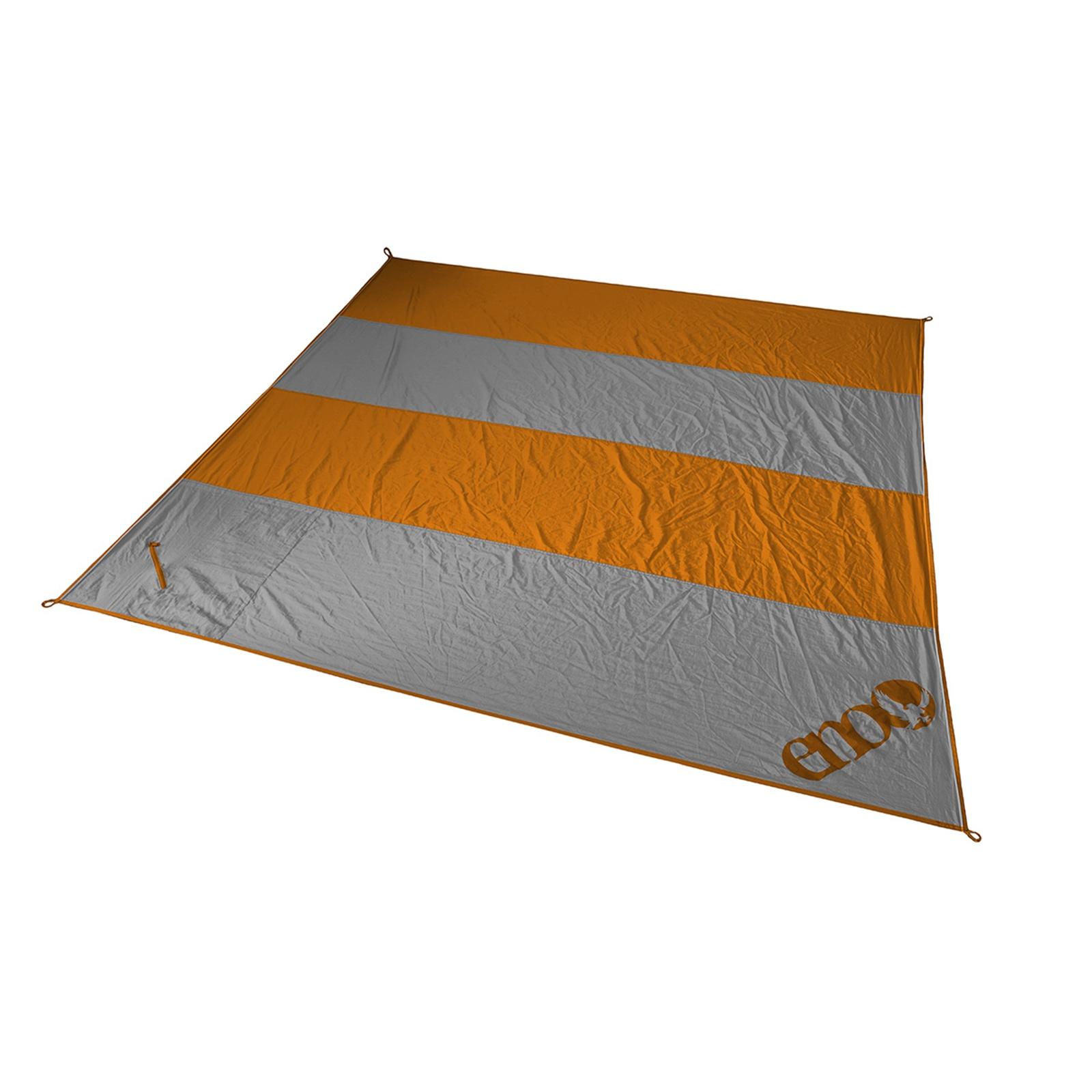 Islander Blanket Orange/Grey