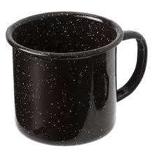12 oz Cup Black