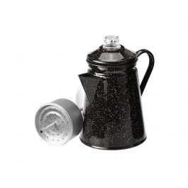 Percolator 8 Cup Black
