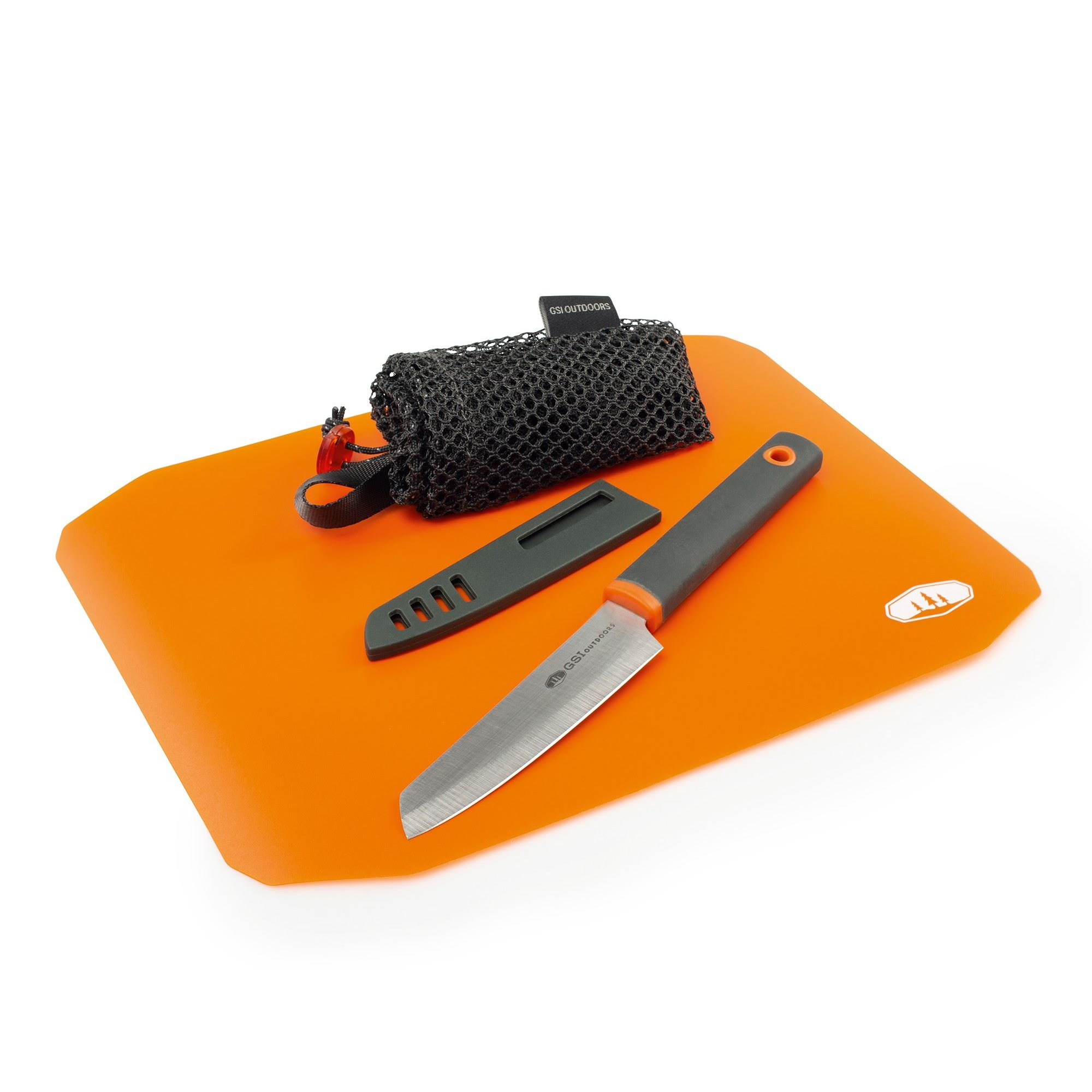 Santoku Cut+Prep Cutting Board Knife Set