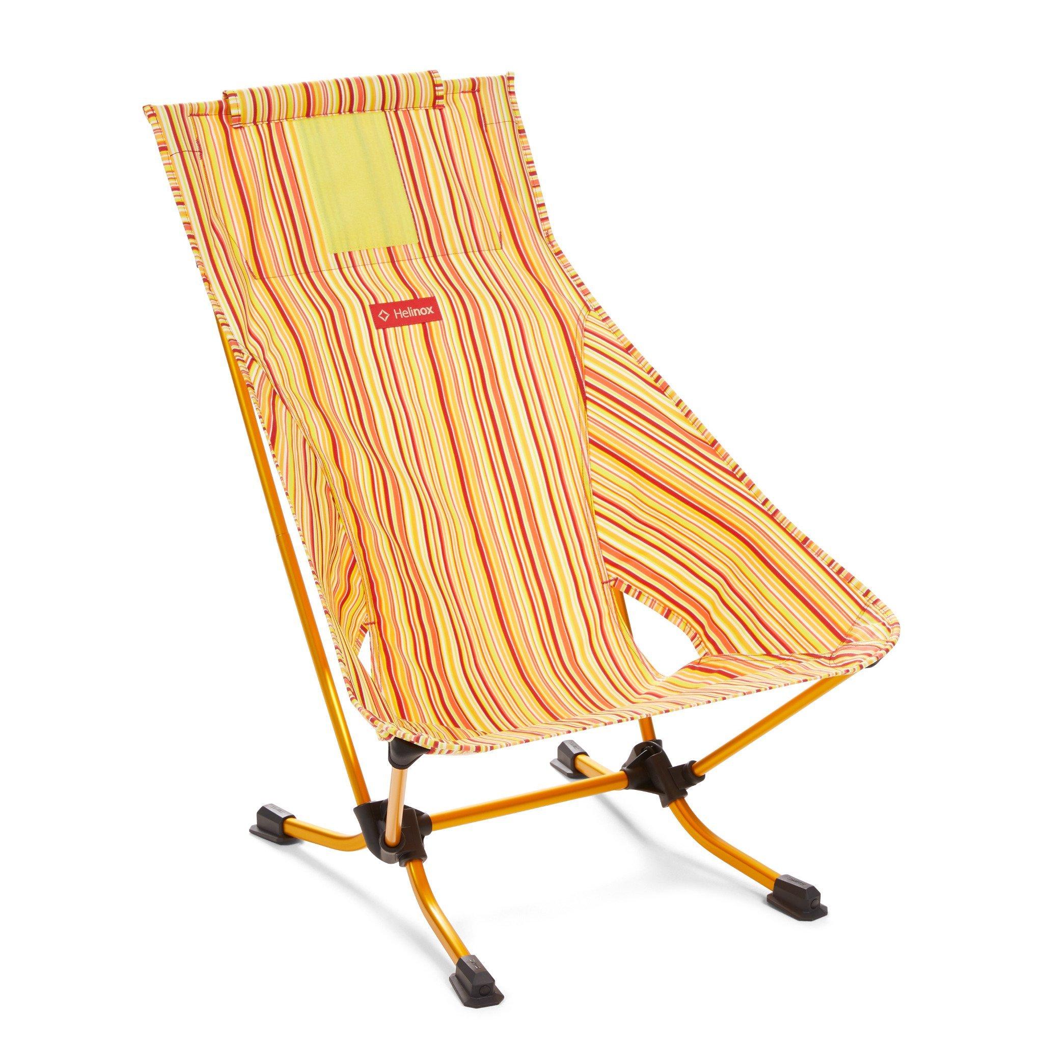 Beach Chair - Red Stripe