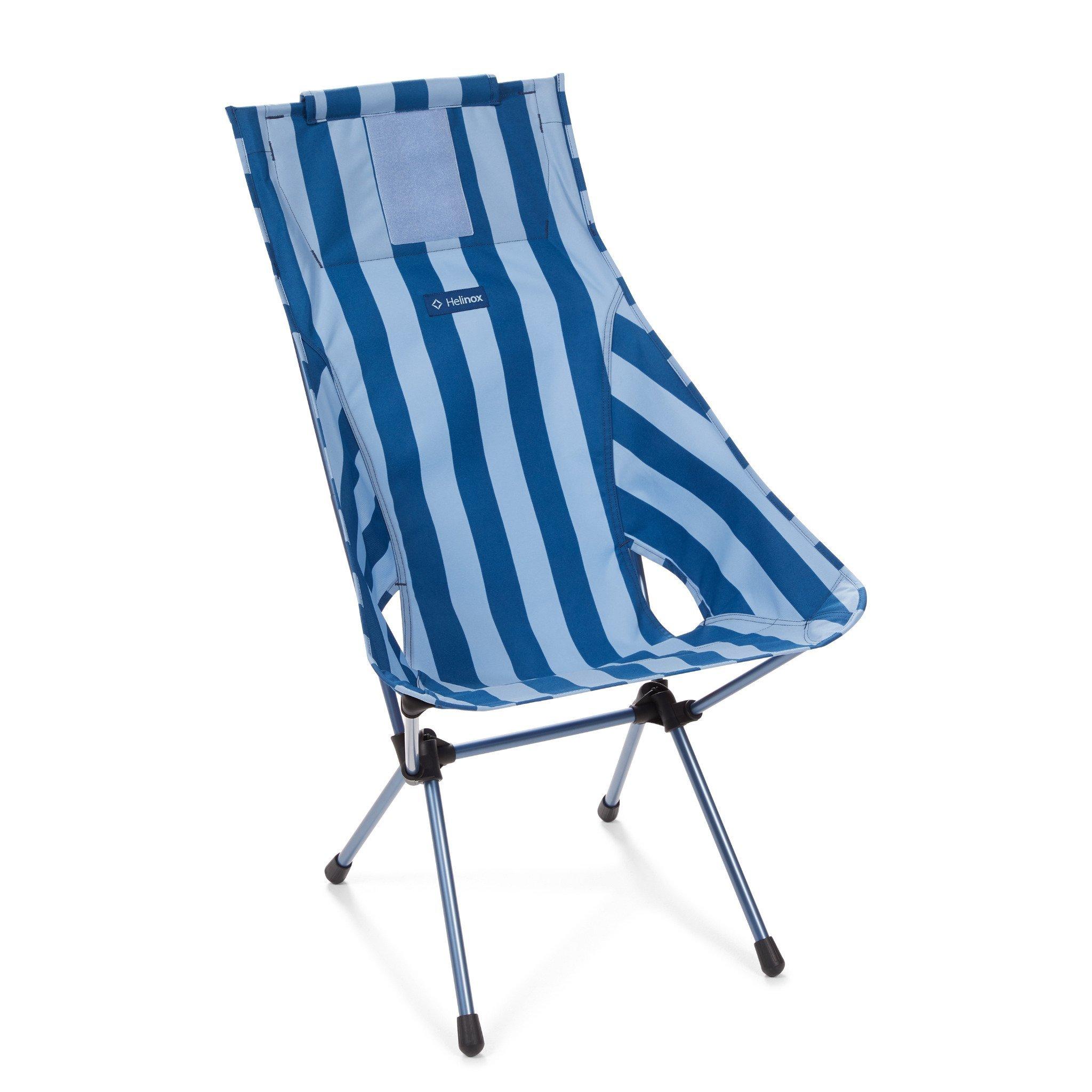 Sunset Chair - Blue Stripe