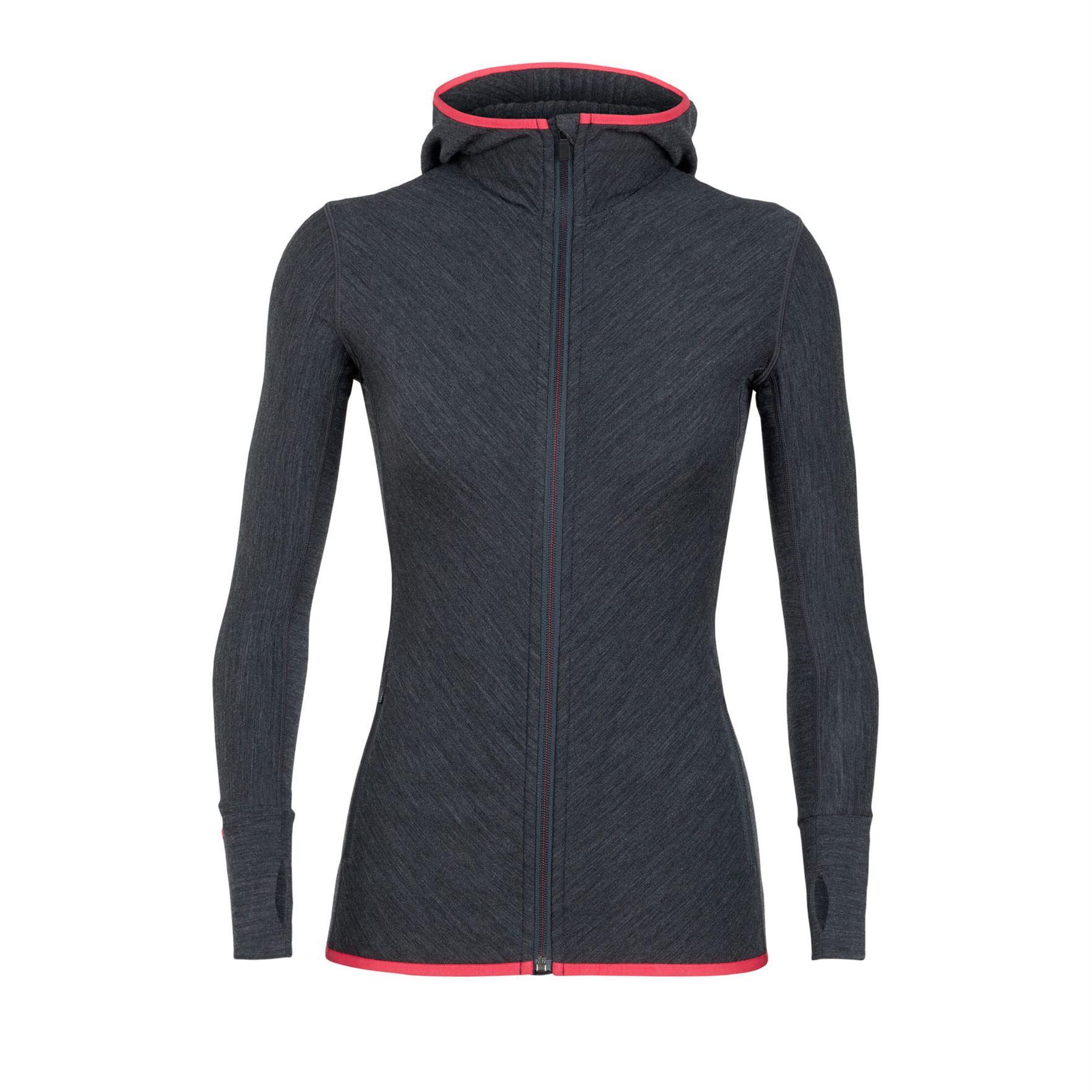 Descender Zip Hood Long Sleeve - Women's