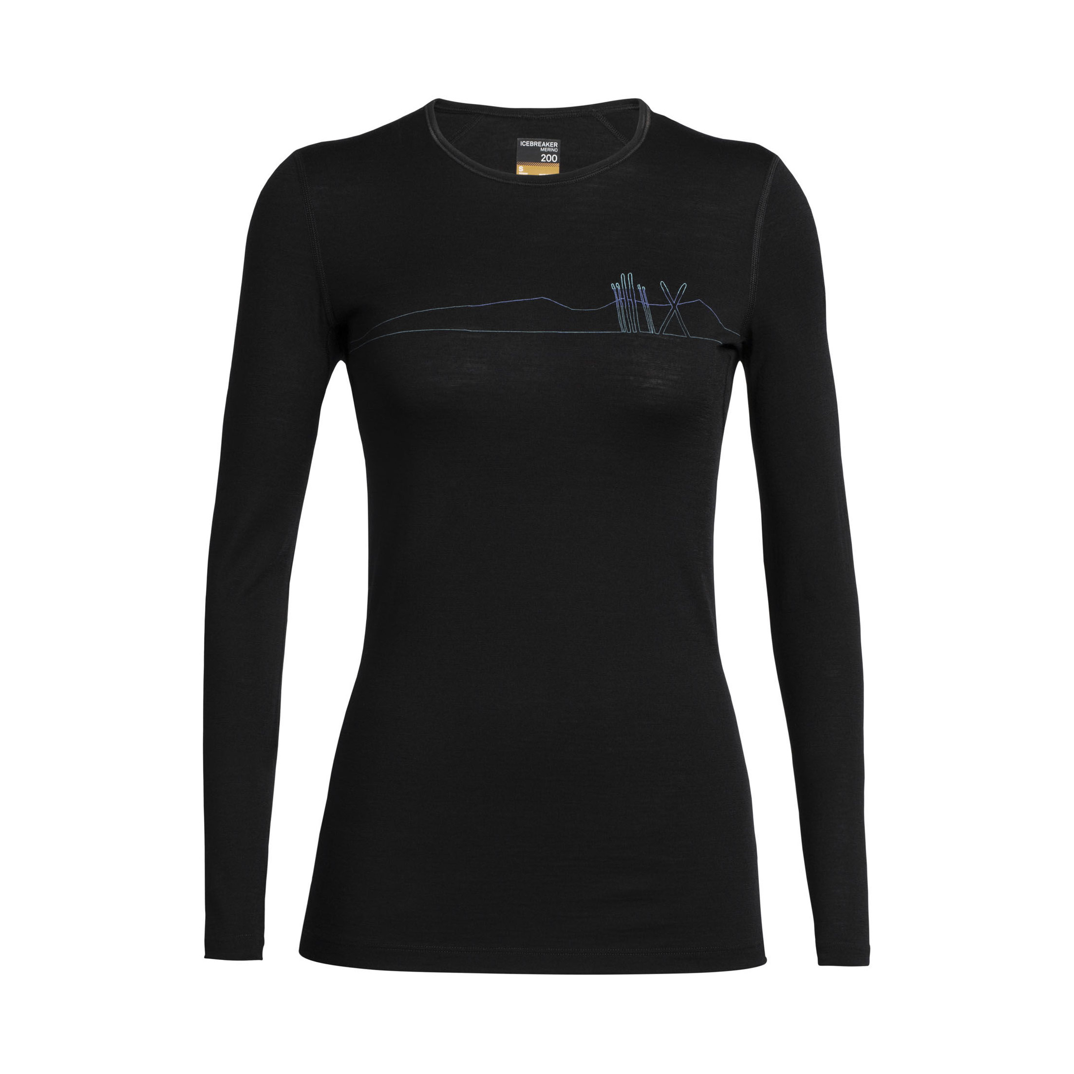 Skis in Snow 200 Oasis Crewe Long Sleeve - Women's