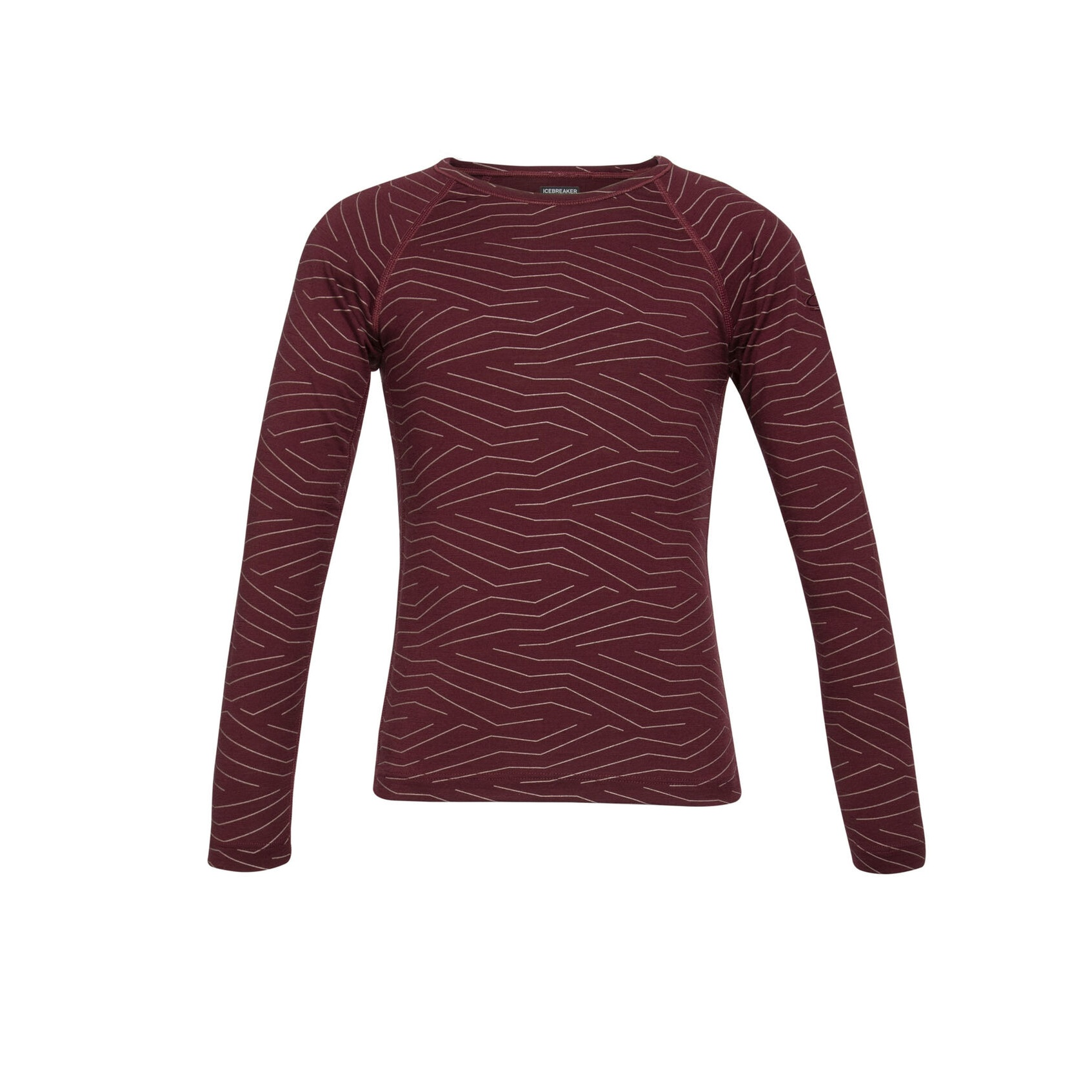 Napasoq Lines 200 Oasis Crewe Long Sleeve - Kids'