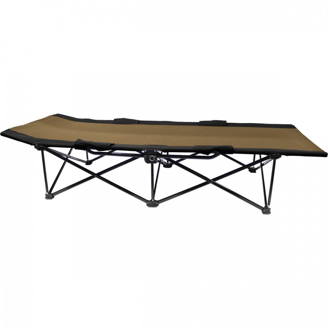 Big Bear Camp Cot - Sierra/Black