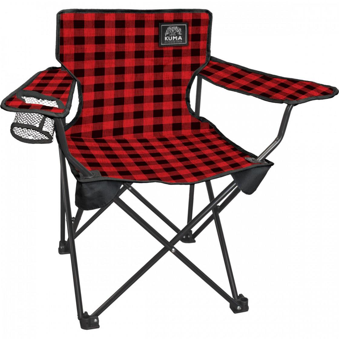 Cub Junior Chair Red Plaid