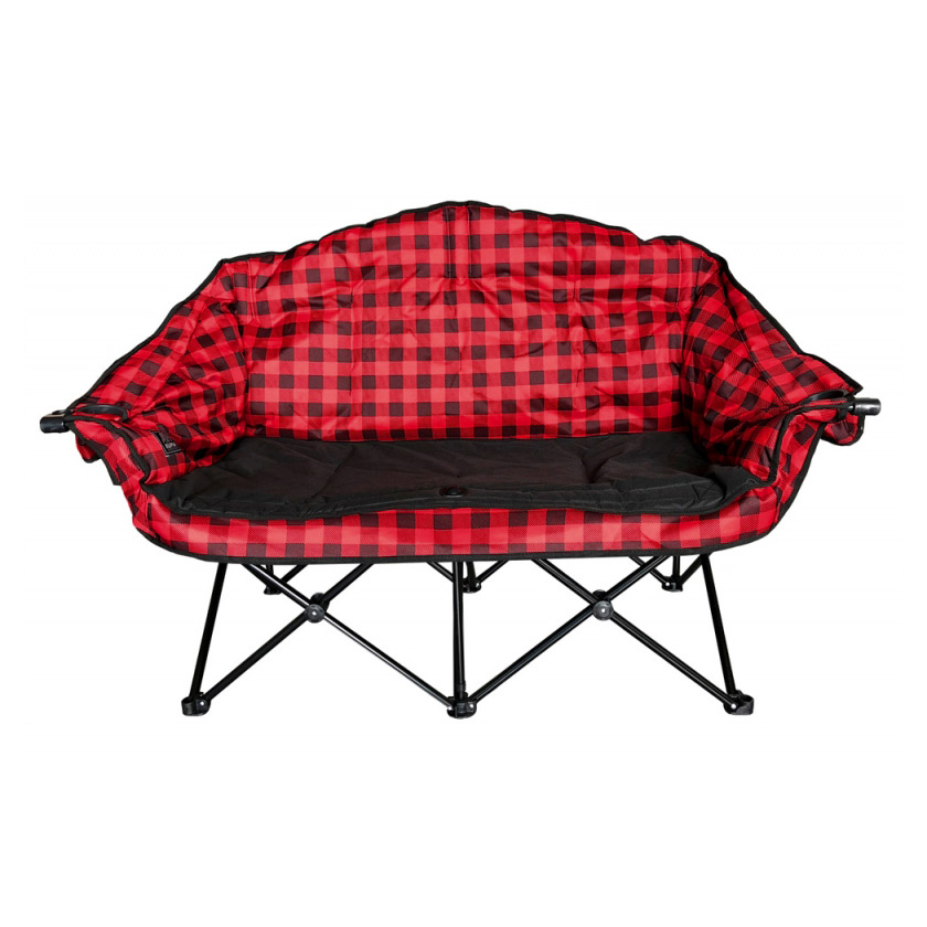 BEAR BUDDY DOUBLE CHAIR RED/BL