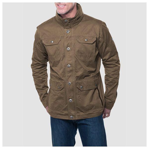 New Kuhl Men's Kollusion Jacket Waterproof Roll Away Hood