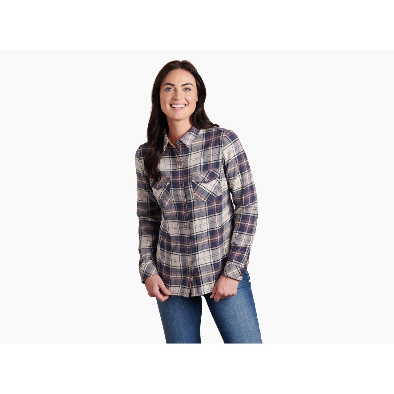 Tess Flannel Long Sleeve - Women's