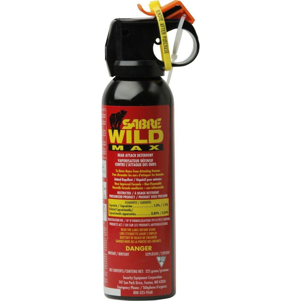 SABER Wild 1% Bear Spray