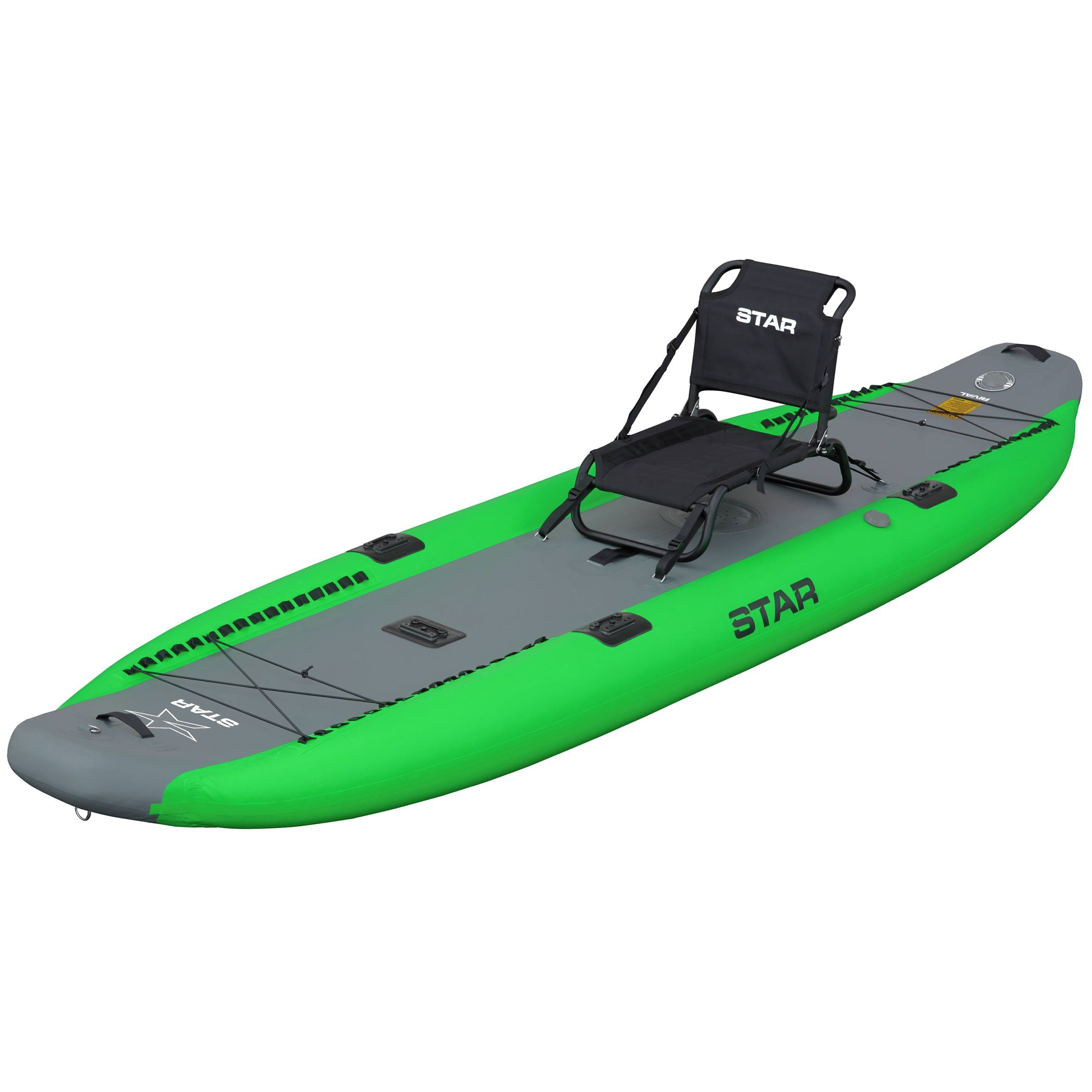 STAR Paragon Rival Inflatable Fishing Kayak