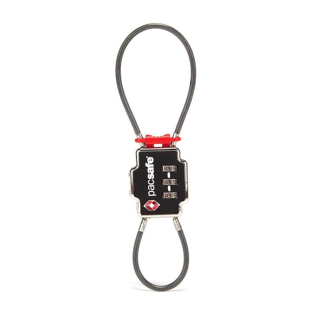 TSA 2-DIAL DOUBLE CABLE LOCK