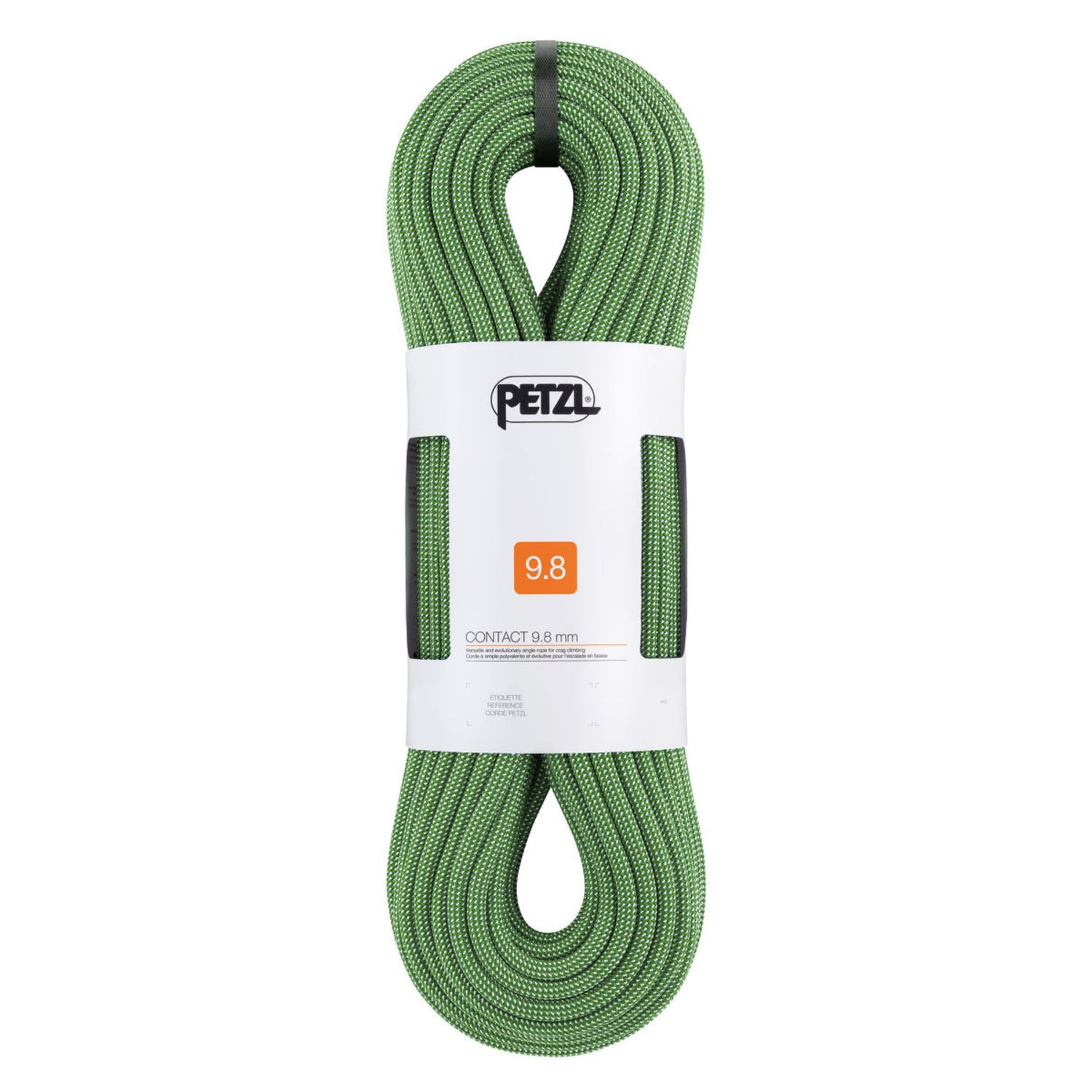 CONTACT 9.8 MM ROPE 70M GREEN