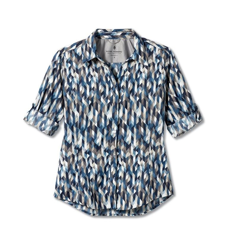 Expedition Print 3/4 Sleeve - Women's
