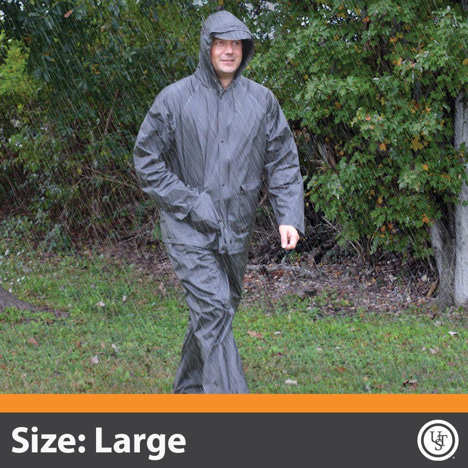 All-Weather Adult Rain Suit Large