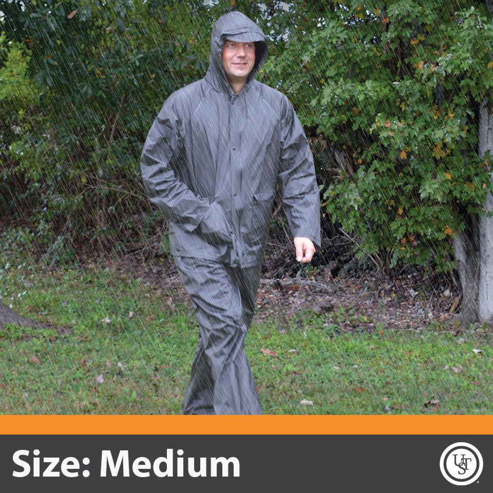 All-Weather Adult Rain Suit Medium