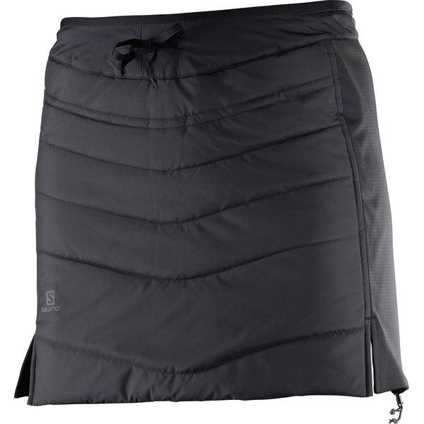 Drifter Mid Skirt Black - Women's