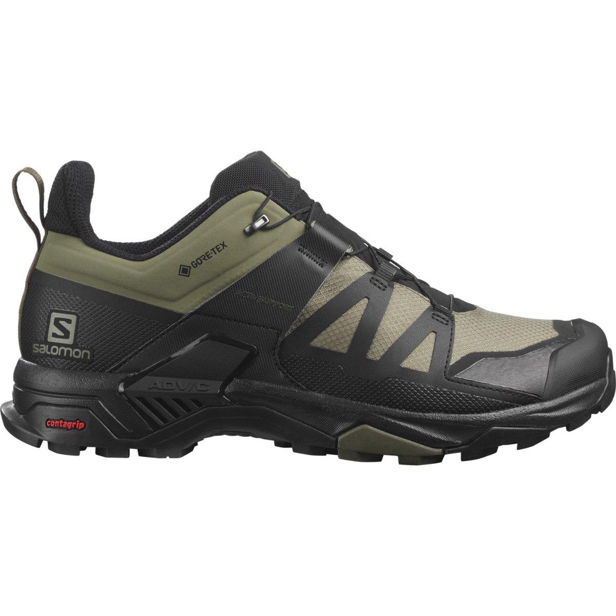 X Ultra 4 GTX Shoe Deep Lichen - Men's