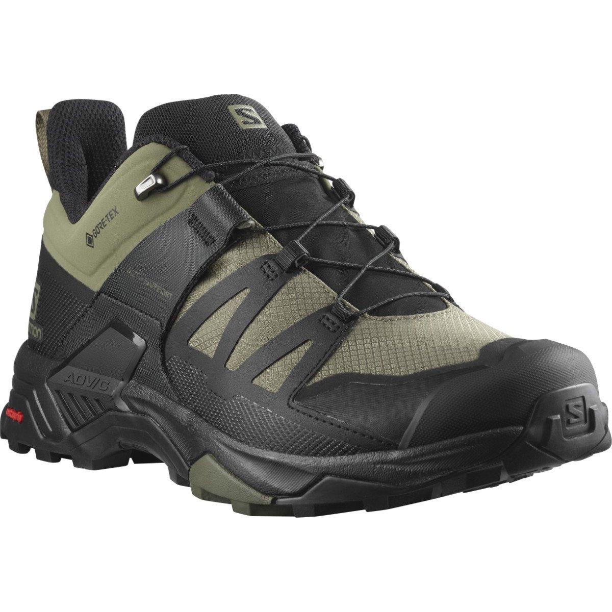 X Ultra 4 GTX Shoe Wide Deep Lichen - Men's