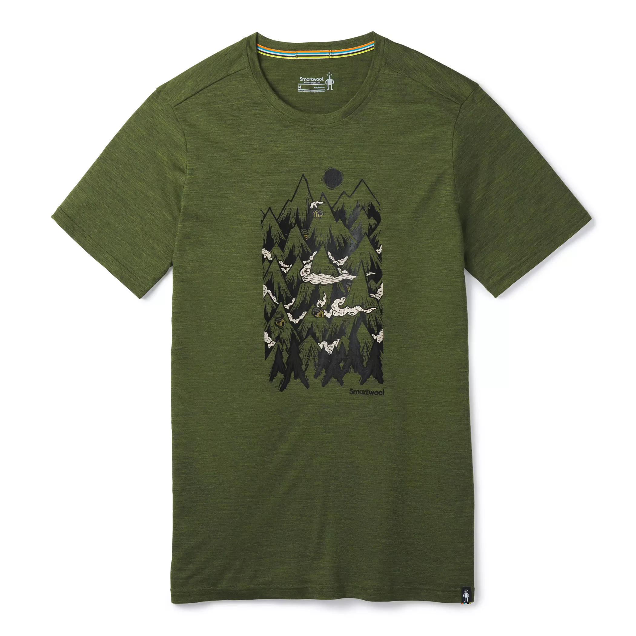 Merino Sport 150 Mountain Ventures Tee - Men's