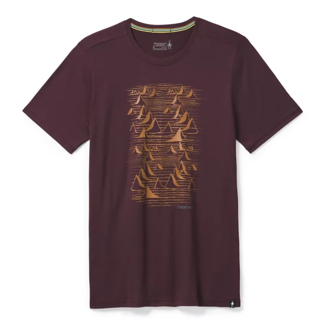Merino Sport 150 Bryan Iguchi Mountains Tee - Men's