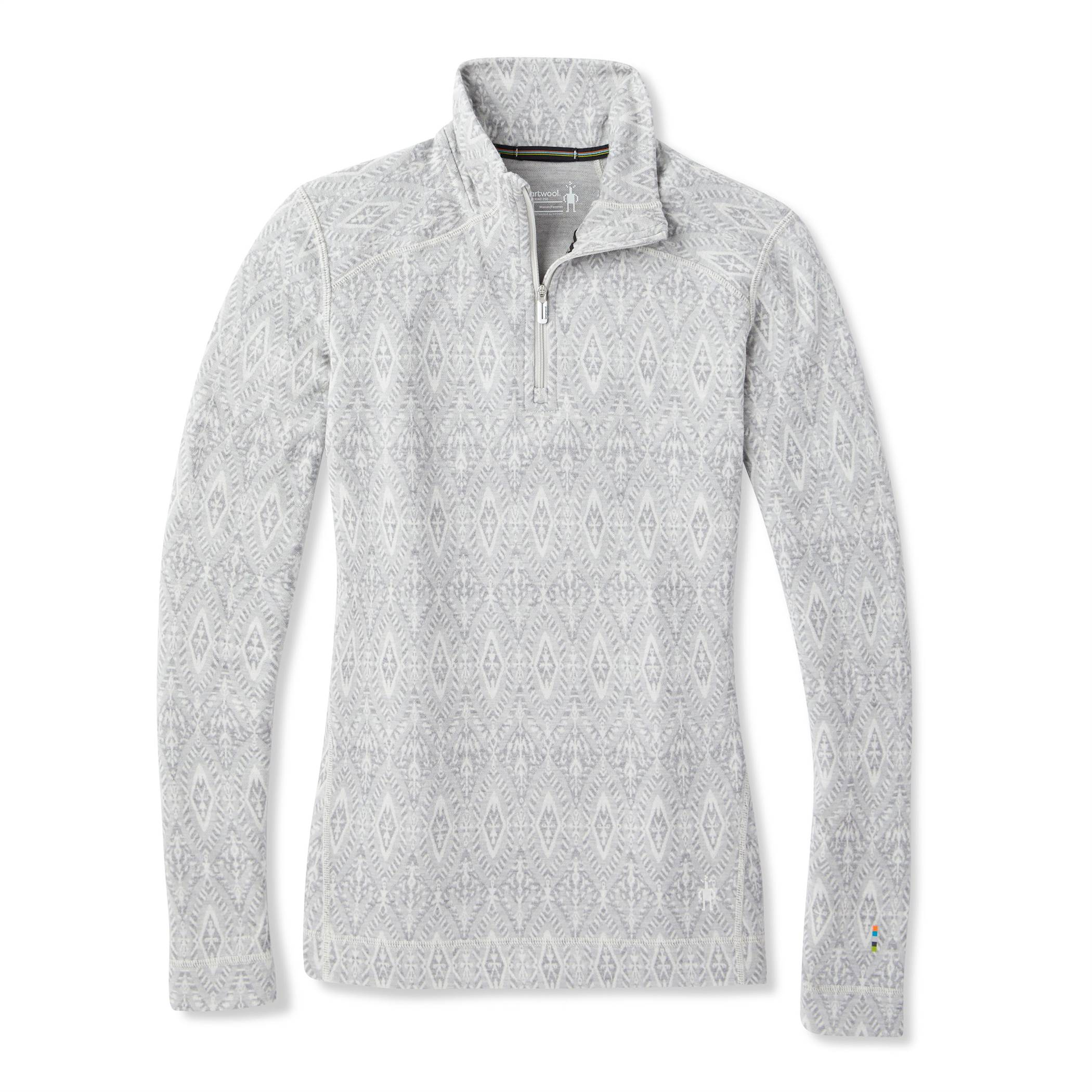 Merino 250 Pattern 1/4 Zip - Women's