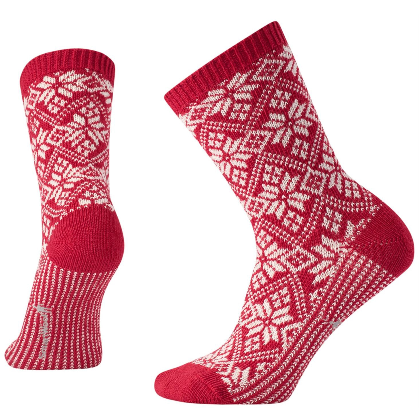 Traditional Snowflake Sock - Women's