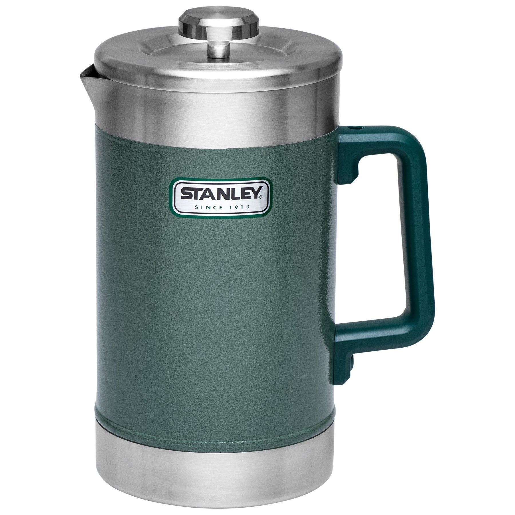 Classic Stay Hot French Press 48oz Hammertone Green