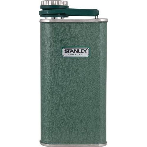 Unbreakable Hip Flask 8 oz Green