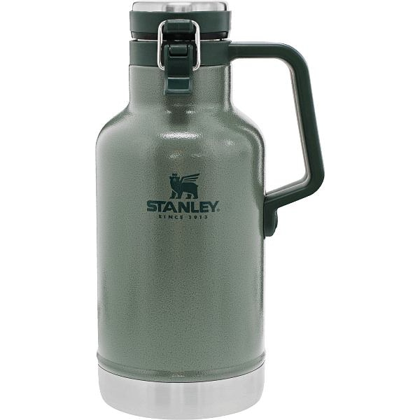 Classic Easy-Pour Growler 64 oz Green