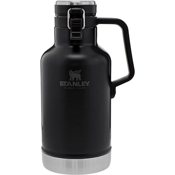 Classic Easy-Pour Growler 64 oz Black