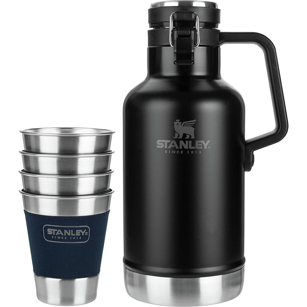Classic Outdoor Growler Gift Set Black