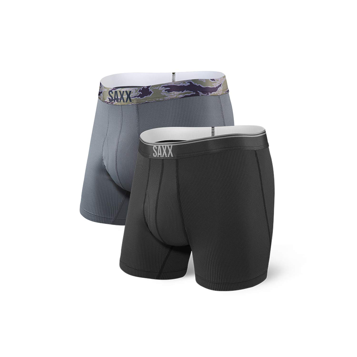 Quest Boxer Brief Fly 2 Pack - Men's