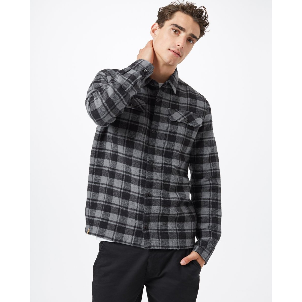 Heavy Weight Flannel Shirt - Men's