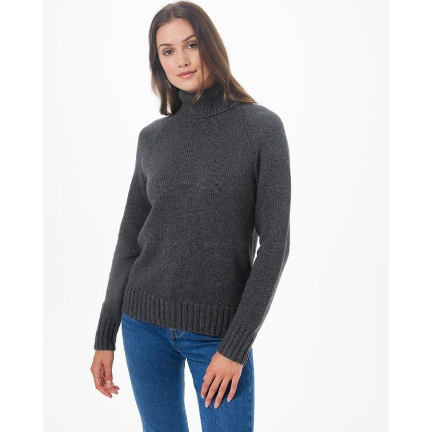 Highline Wool Turtleneck Sweater - Women's