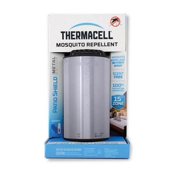 Thermacell Camping Metal Edition - Brushed Nickel