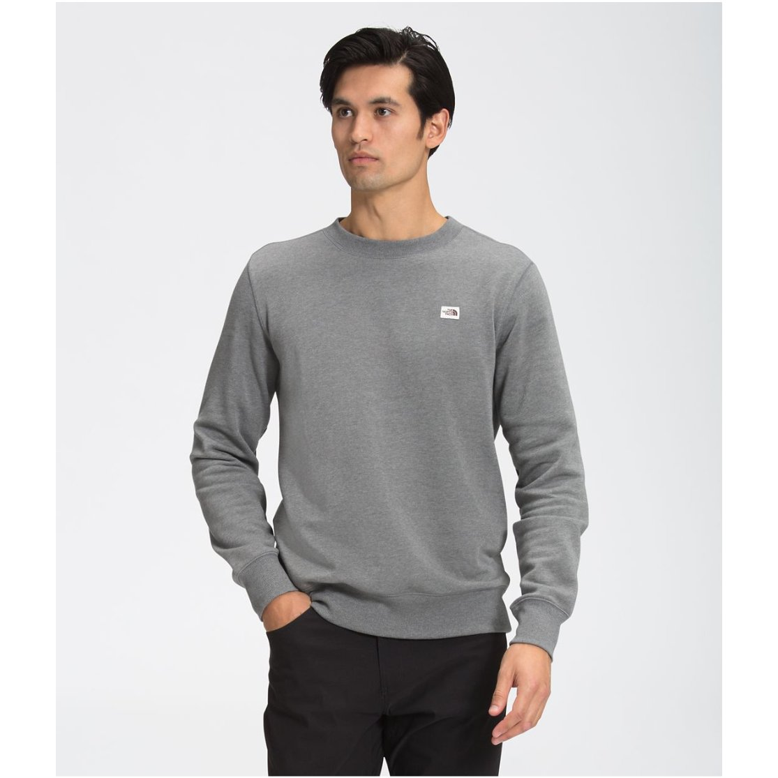 Heritage Patch Crew Sweater - Men's