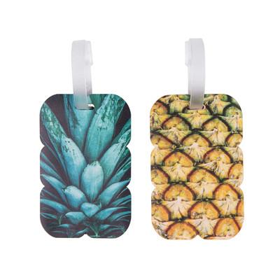 Pineapple Luggage Tags 2 Pk